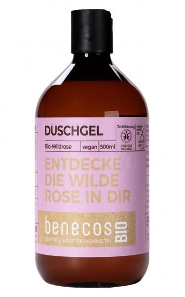 Duschgel Bio-Wildrose 500 ml
