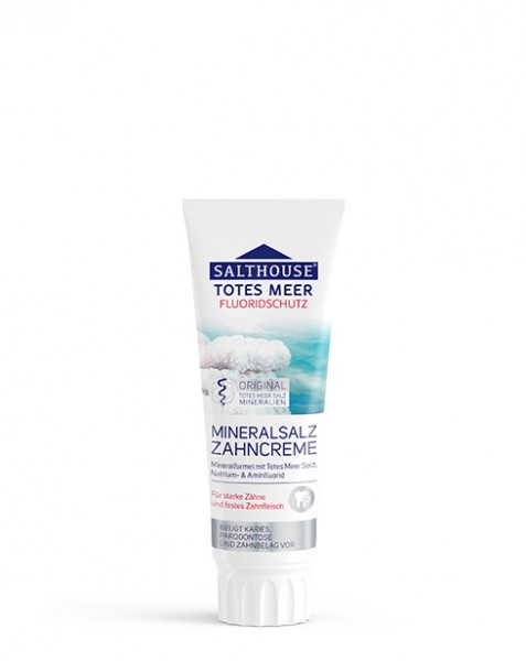 Salthouse Totes Meer Mineralsalz Zahncreme 75 ml