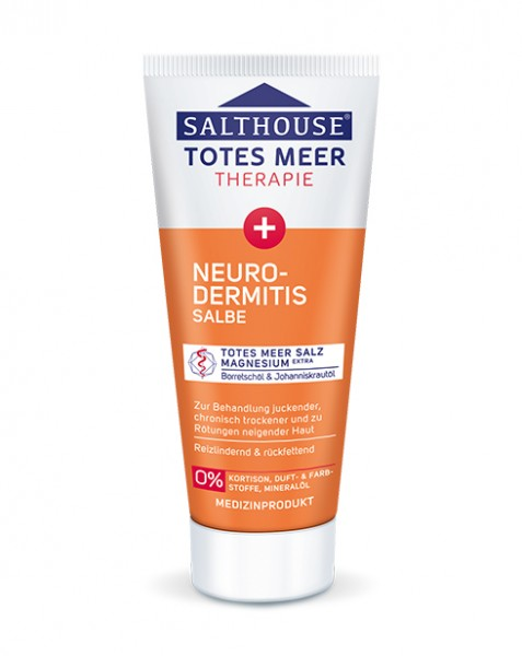 Totes Meer Neurodermitis Salbe 75 ml