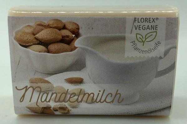 Vegane Pflanzenölseife Mandelmilch 100 g