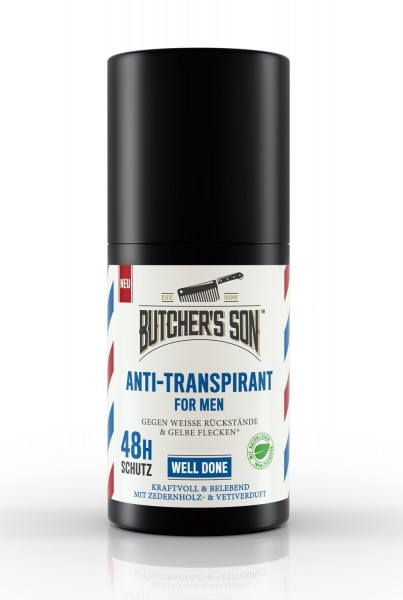 Anti Transpirant Roll On Well Done 50 ml