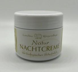 Natur Nachtcreme mit Schafmilch 50 ml