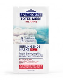 Salthouse Totes Meer Beruhigende Maske akut 2 x 7 ml