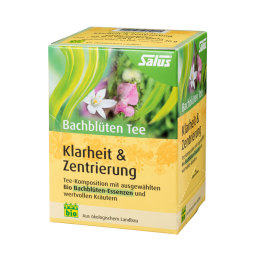 Bachblüten Tee Klarheit + Zentrierung 15 x 2 g