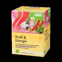 Bachblüten Tee Kraft + Energie 15 x 2 g