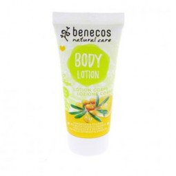 benecos Body Lotion Sanddorn + Orange 30 ml Reisegröße